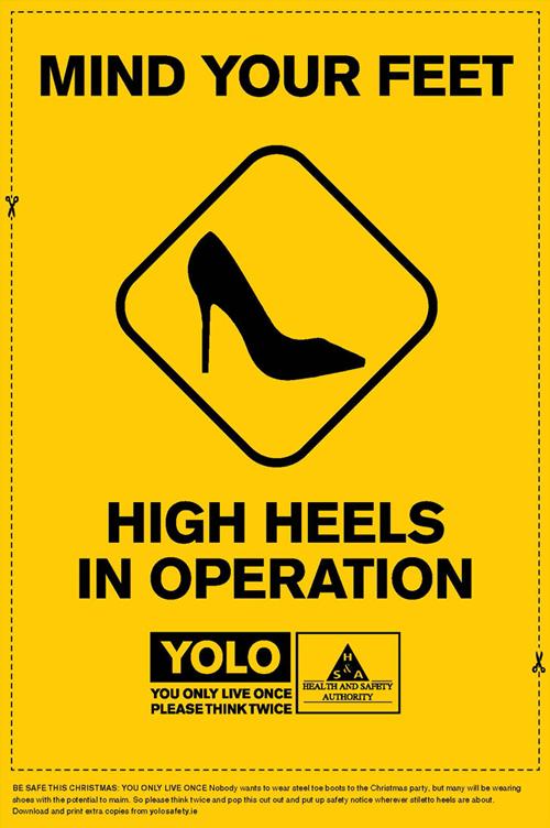YOLO-HIGHHEEL